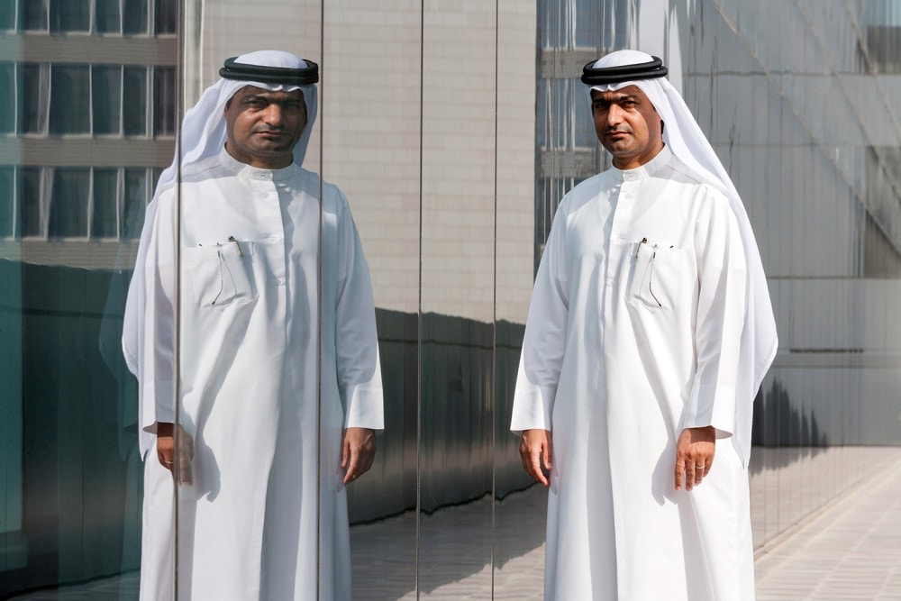 Ahmed Mansoor, a Dubai-based blogger and activist, poses for a photograph in Dubai, United Arab Emirates on September 25, 2012.