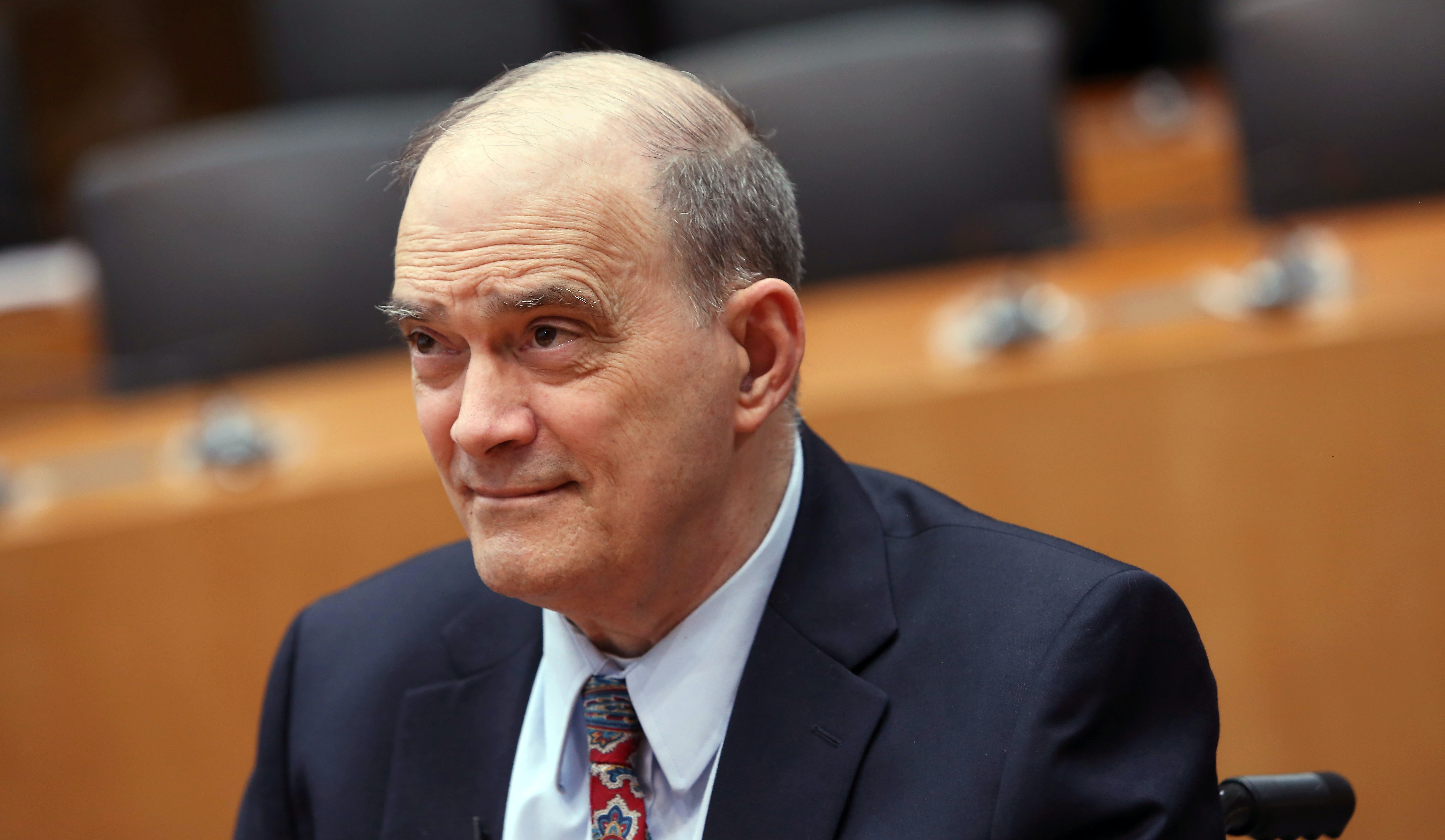BERLIN, GERMANY - JULY 03: William Binney, former intelligence official of the U.S. National Security Agency (NSA) turned whistleblower, arrives to testify at the Bundestag commission investigating the role of the U.S. National Security Agency (NSA) in Germany on July 3, 2014 in Berlin, Germany. The commission convened following revelations last year that the NSA had for years eavesdropped on the mobile phone of German Chancellor Angela Merkel and other leading German and European politicians. Recent documents released by former NSA employee Edward Snowden show strong activity by the NSA in Germany as well as cooperation between the NSA and the German intelligence service. (Photo by Adam Berry/Getty Images)