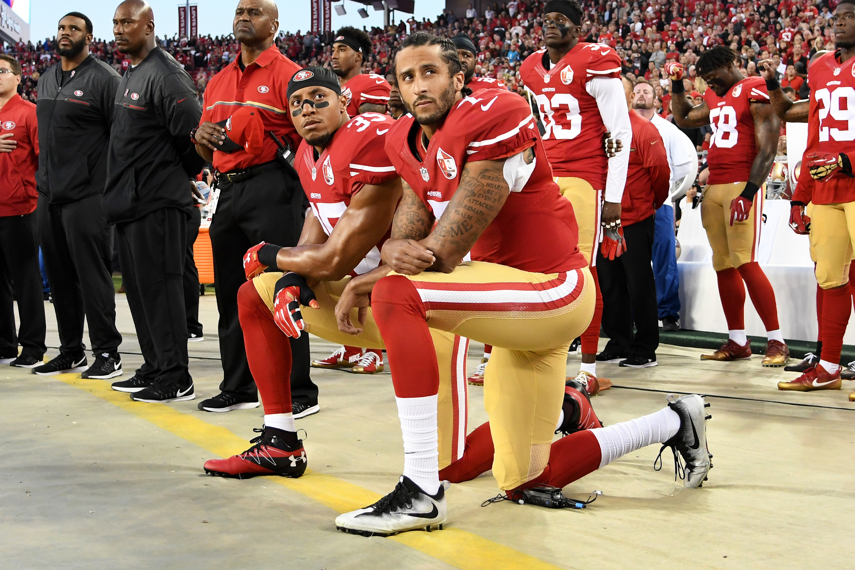 Colin Kaepernick's attorney says National Football League  teams are interested in signing the QB