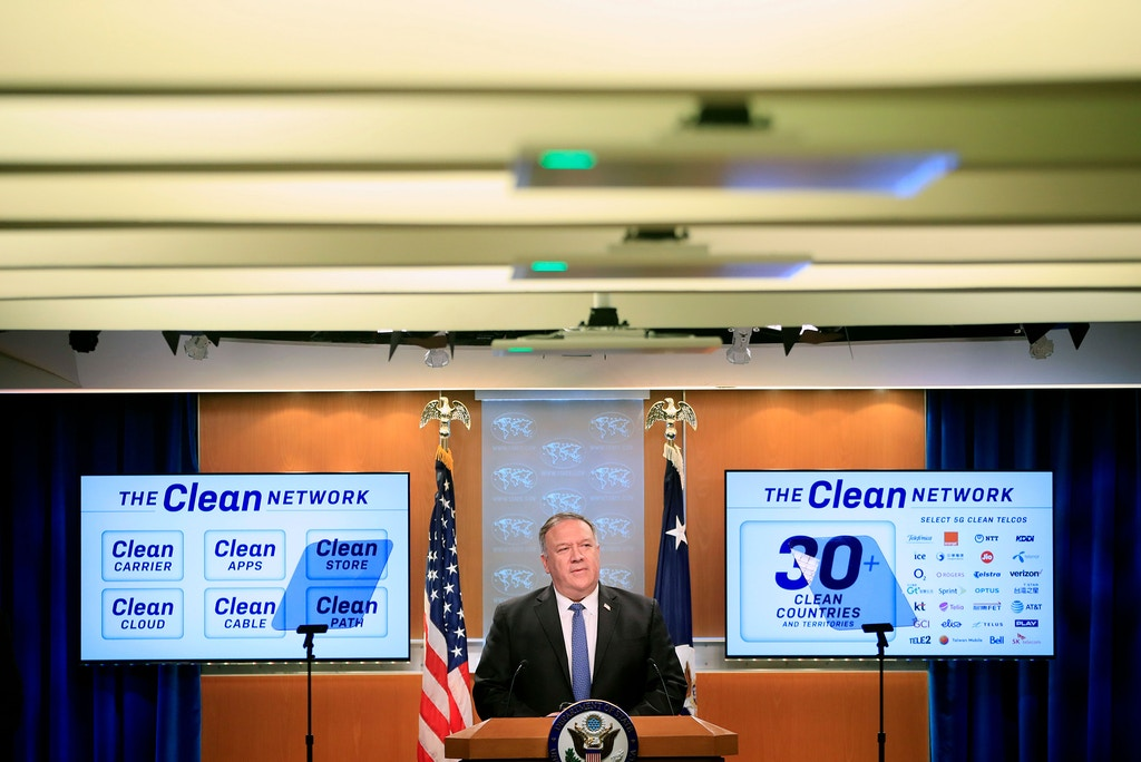 internet marketing US Secretary of State Mike Pompeo speaks during a news conference at the State Department in Washington, DC, on August 5, 2020. (Photo by Pablo Martinez Monsivais / POOL / AFP) (Photo by PABLO MARTINEZ MONSIVAIS/POOL/AFP via Getty Images)