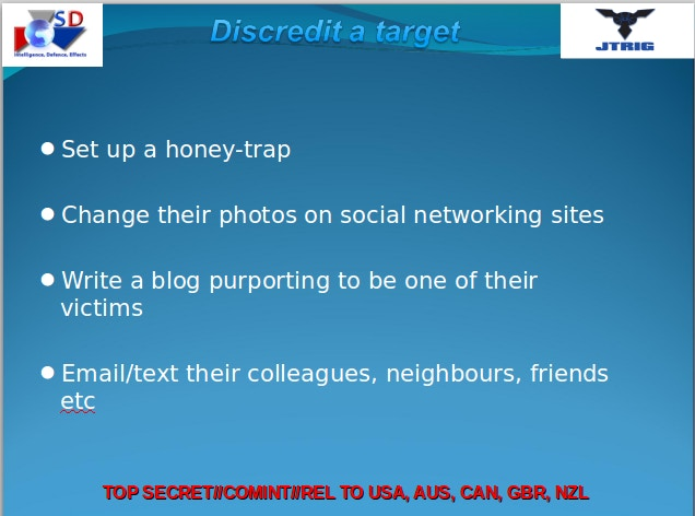 how covert agents infiltrate the internet to manipulate deceive