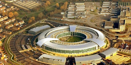 British spy agency GCHQ (pictured above) stands accused of adopting illegal hacking tactics. Barry Batchelor/PA Wire.