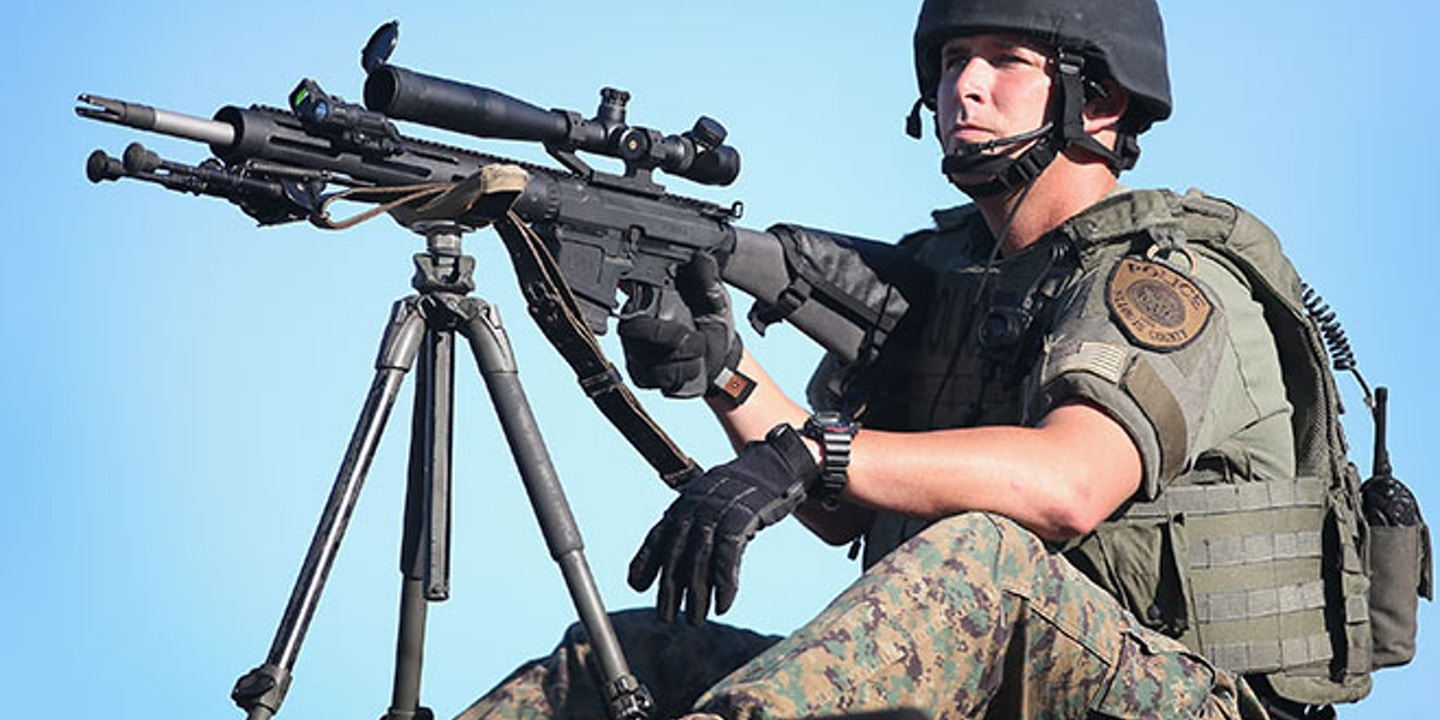 The intensive militarization of America's police forces is a serious menace  about which a small number of people have been loudly warning for years, ...