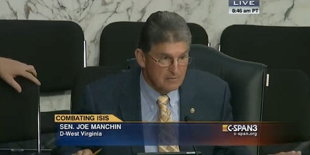 Sen. Joe Manchin, ISIS, Islamic State, ISIL