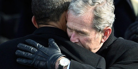 Barack Obama George W. Bush
