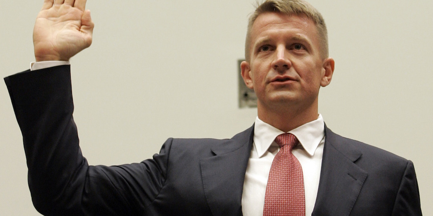 Blackwater Founder Remains Free and Rich While His Former Employees