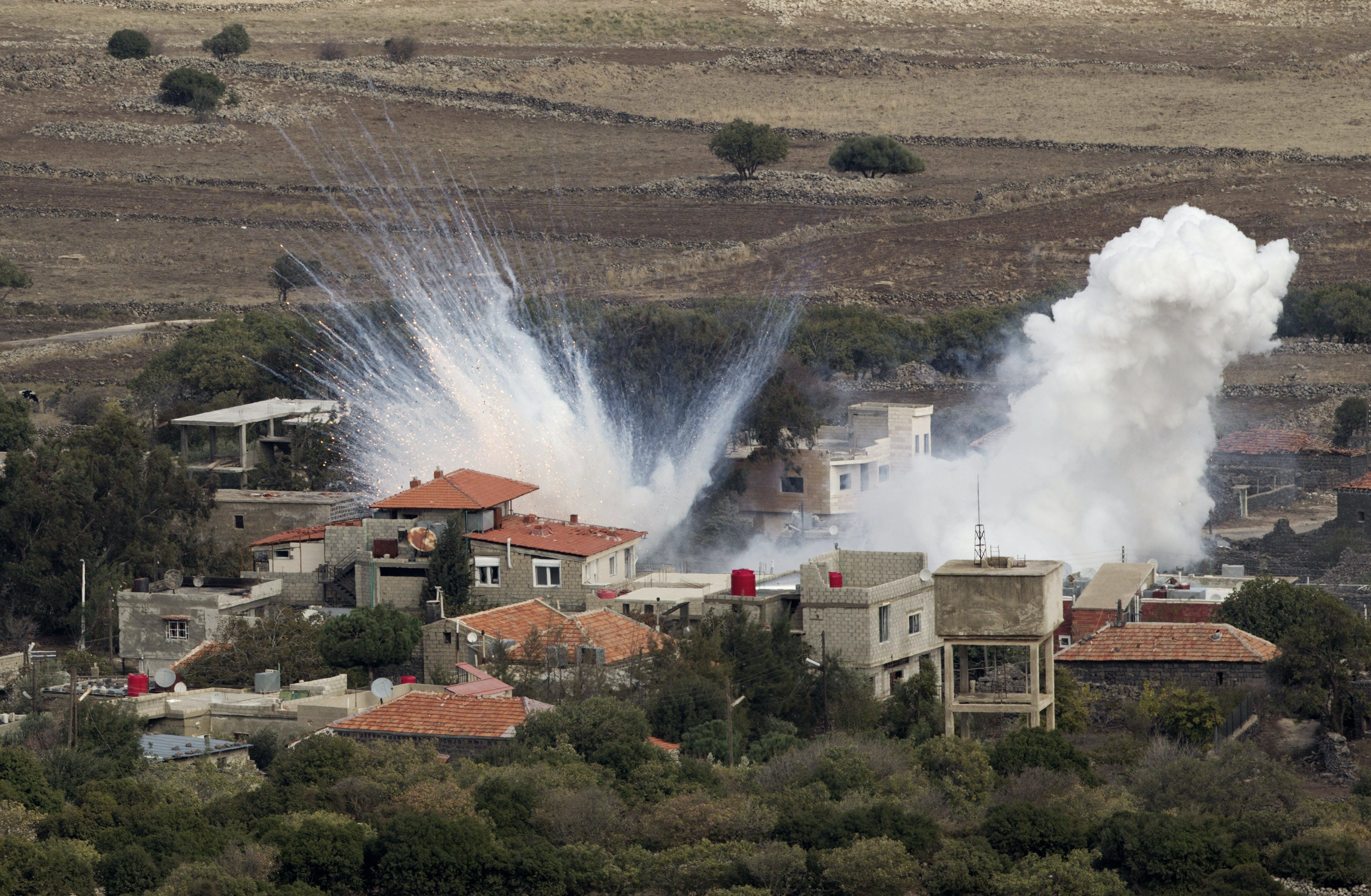 Playing With Fire on the Lebanese Border
