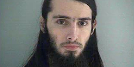 This Wednesday Jan. 14, 2015 photo made available by the Butler County Jail shows Christopher Lee Cornell. Cornell plotted to attack the U.S. Capitol in Washington and kill government officials inside it and spoke of his desire to support the Islamic State militant group, the FBI said on Wednesday. (AP Photo/Butler County Jail)