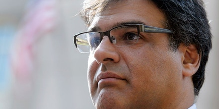 Former CIA officer John Kiriakou leaves U.S. District Courthouse in Alexandria, Va., Tuesday, Oct. 23, 2012, after pleading guilty, in a plea deal, to leaking the names of covert operatives to journalists. (AP Photo/Cliff Owen)