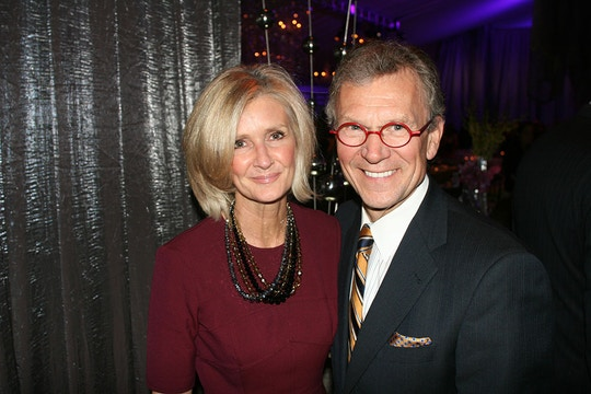 Linda Daschle stands with her husband, Tom Daschle, former majority leader, during the 15th Annual Mark Twain Prize for American Humor at the Kennedy Center in Washington D.C., U.S., on Monday, Oct. 22, 2012. Photographer: Stephanie Green/Bloomberg via Getty Images