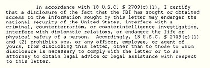 FBI Flouts Obama Directive to Limit Gag Orders on National