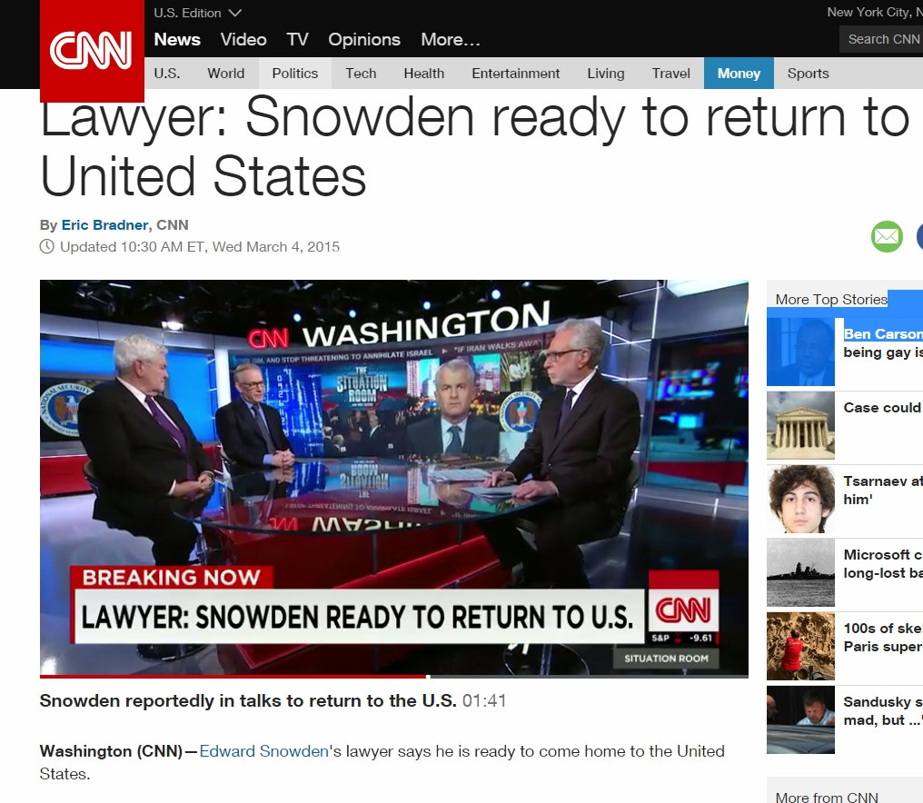 """Support Tv Qui Monte Et Descend the """"snowden is ready to come home!"""" story: a case study in"""