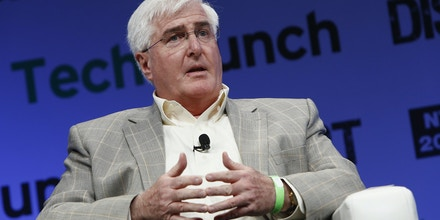 NEW YORK, NY - MAY 01:  Ron Conway of SV Angel speaks onstage at TechCrunch Disrupt NY 2013 at The Manhattan Center on May 1, 2013 in New York City.  (Photo by Brian Ach/Getty Images  for TechCrunch)