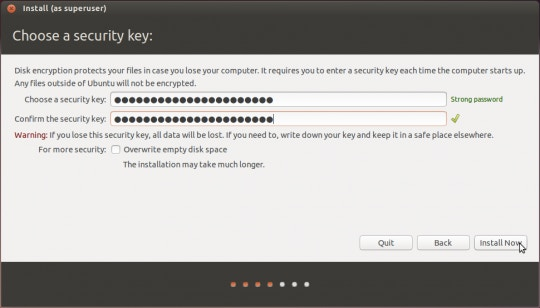 Encrypting Your Laptop Like You Mean It