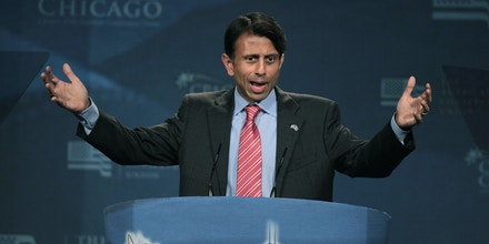 ROSEMONT, IL - JUNE 08:  Louisiana governor Bobby Jindal speaks to guests at the Conservative Political Action Conference (CPAC) at the Donald E. Stephens Convention Center on June 8, 2012 in Rosemont, Illinois. CPAC is being hosted by the American Conservative Union.  (Photo by Scott Olson/Getty Images)