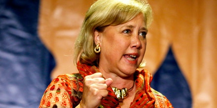NEW ORLEANS, LA - OCTOBER 22:  U.S. Senator Mary Landrieu (D-LA) speaks to supporters during a