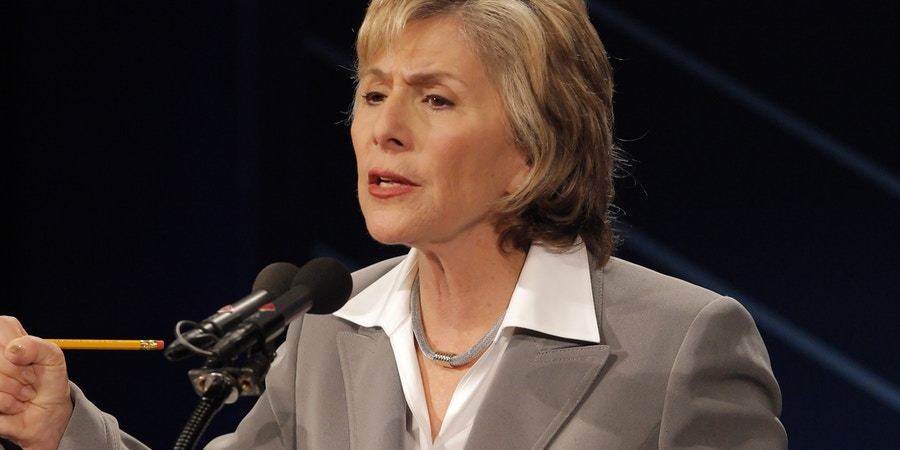 Generated by IJG JPEG LibraryU.S. Sen. Barbara Boxer answers a question as she and republican candidate for U.S. Senate Carly Fiorina participate in a debate on the Saint Mary's College campus in Moraga, Calif,. on Wednesday, September 1, 2010. Generated by IJG JPEG Librar