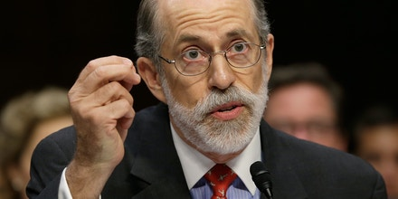 WASHINGTON, DC - JULY 24:  Frank Gaffney, founder and president of the Center for Security Policy, testifies during a hearing of the Senate Judiciary Committee July 24, 2013 in Washington, DC. The committee heard testimony from the panelists on