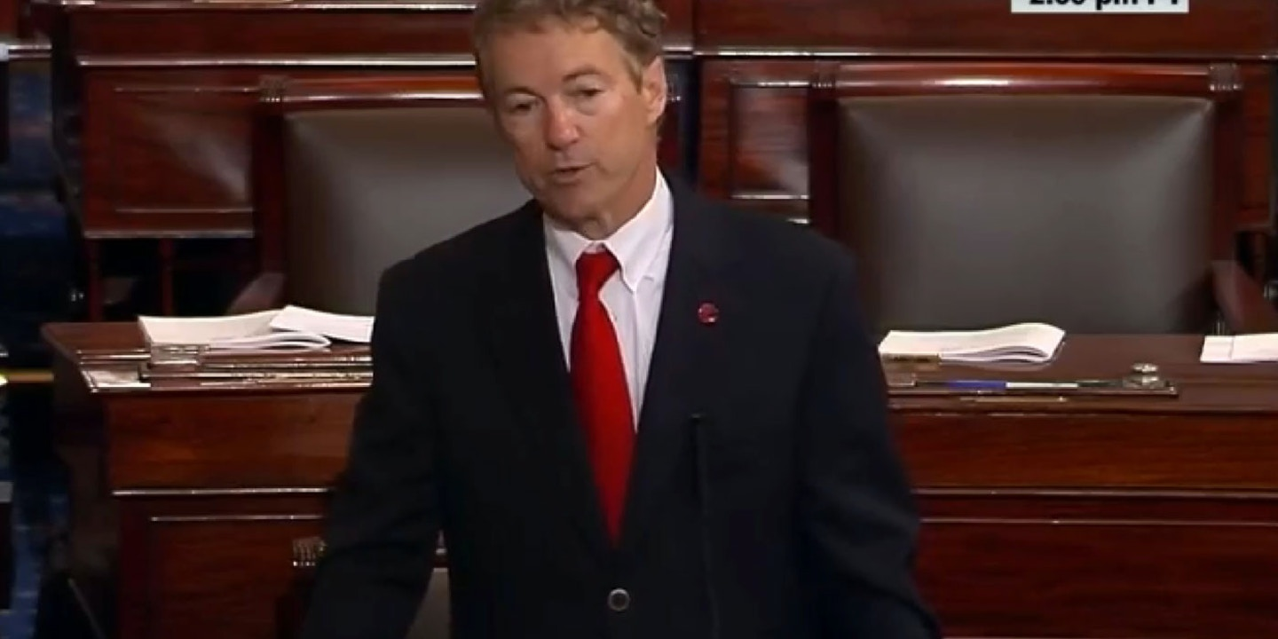 Where Rand Pauls Small Government Credo >> For The First Time Since 9 11 Congress Checks The Security State