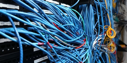 NEW YORK, NY - NOVEMBER 10:  Network cables are plugged in a server room on November 10, 2014 in New York City. U.S. President Barack Obama called on the Federal Communications Commission to implement a strict policy of net neutrality and to oppose content providers in restricting bandwith to customers.  (Photo by Michael Bocchieri/Getty Images)