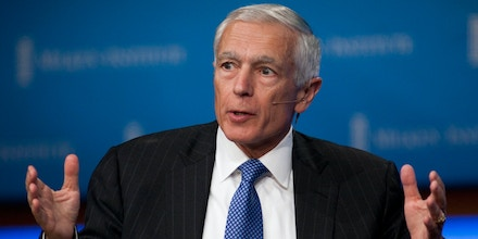Image #: 14064458    Retired Army General Wesley Clark, former Supreme Allied Commander of  NATO and Senior Fellow at UCLA Burkle Center for International Relations speaks during a panel discussion at the Milken Institute 2011 Global Conference in Beverly Hills, California on Tuesday, May 3, 2011. Adrian Sanchez-Gonzalez/PI /Landov