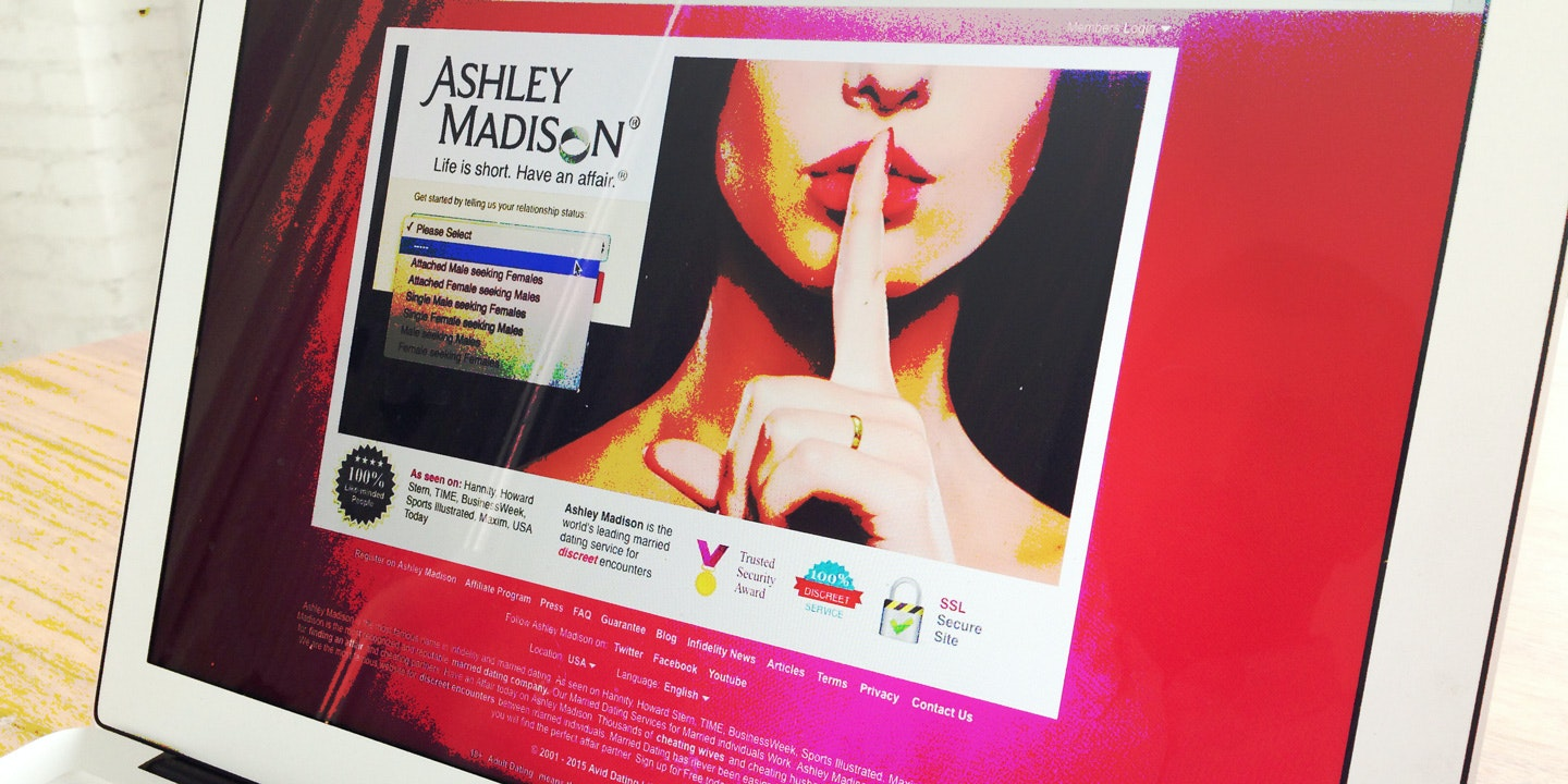Do you have to be married to join ashley madison