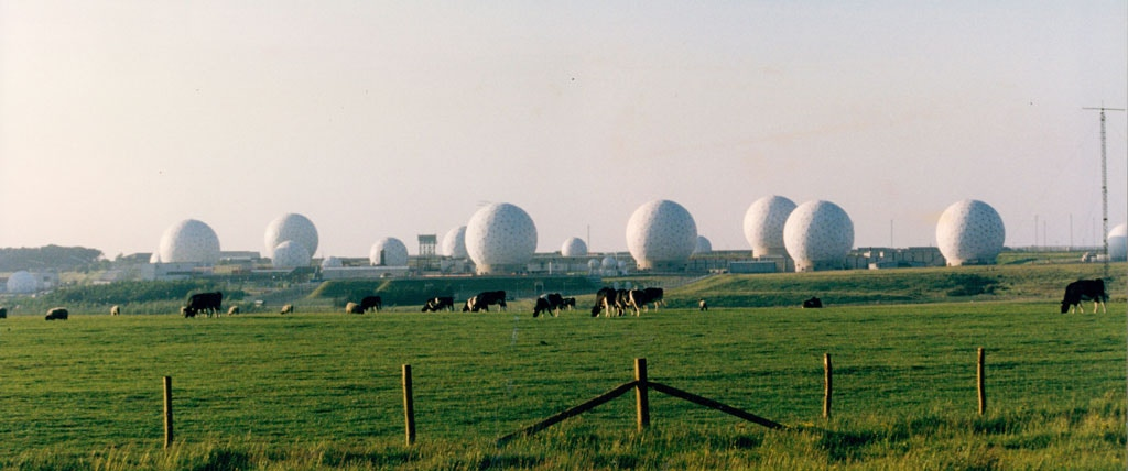 Mandatory Credit: Photo by John Carter/ANL/REX Shutterstock (2569089a)<br /><br /><br /><br /><br /><br /><br /><br /><br /><br /> The Distinctive Domes Of The American Spy Base At Menwith Hill In North Yorkshire.<br /><br /><br /><br /><br /><br /><br /><br /><br /><br /> The Distinctive Domes Of The American Spy Base At Menwith Hill In North Yorkshire.