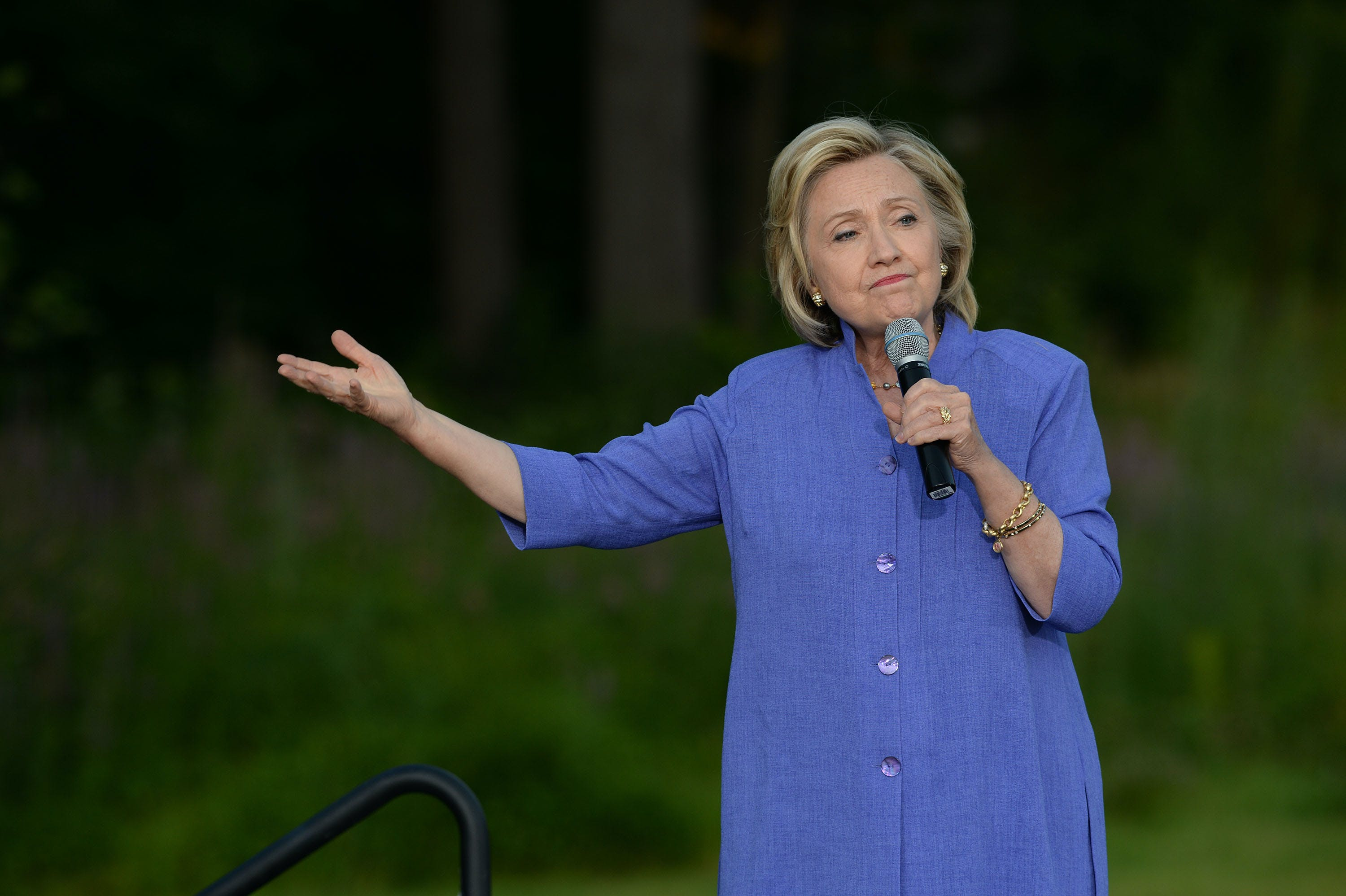 Hillary Clinton Must Answer Questions On Wall Street