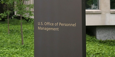 WASHINGTON, DC - JUNE 05:  The Theodore Roosevelt Federal Building that houses the Office of Personnel Management headquarters is shown June 5, 2015 in Washington, DC. U.S. investigators have said that at least four million current and former federal employees might have had their personal information stolen by Chinese hackers.  (Photo by Mark Wilson/Getty Images)