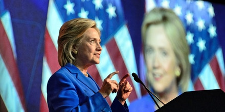 Aug. 28, 2015 - N, Minnesota, U.S. - Former Secretary of State Hillary Clinton spoke to the DNC summer meeting in Minneapolis.      ]   GLEN STUBBE * gstubbe@startribune.com   Friday, August 28, 2015  Democratic National Committee Summer Meeting is being held in Minneapolis beginning Thursday. Hillary Clinton, Bernie Sanders, Martin O'Malley, Lincoln Chafee and Jim Webb are expected to address DNC meeting goers. ORG XMIT: MIN1508281306310222 (Credit Image: © Glen Stubbe/Minneapolis Star Tribune via ZUMA Wire)