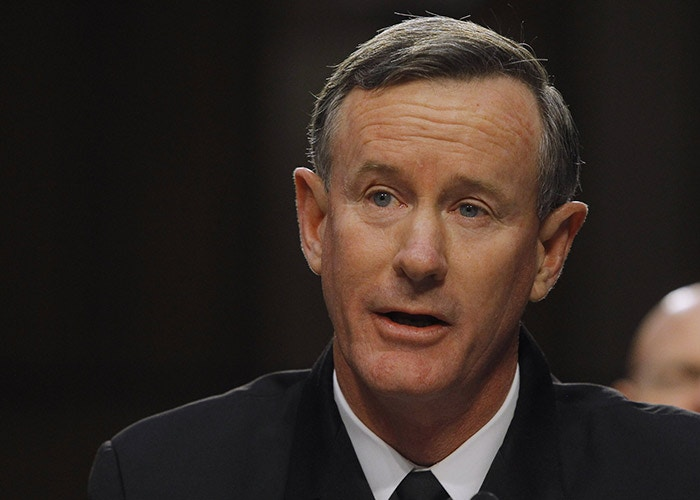 Image #: 21476399    U.S. Navy Admiral William McRaven testifies before the Senate Armed Services Committee in Washington March 5, 2013, with regard to the Defense Authorization Request for fiscal year 2014. REUTERS/Gary Cameron (UNITED STATES - Tags: MILITARY POLITICS PROFILE HEADSHOT)       REUTERS /GARY CAMERON /LANDOV