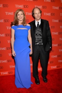 United States Ambassador to the United Nations Samantha Power and husband Cass Sunstein attend the TIME 100 Gala, celebrating the 100 most influential people in the world, at the Frederick P. Rose Hall, Time Warner Center on Tuesday, April 21, 2015, in New York. (Photo by Evan Agostini/Invision/AP)