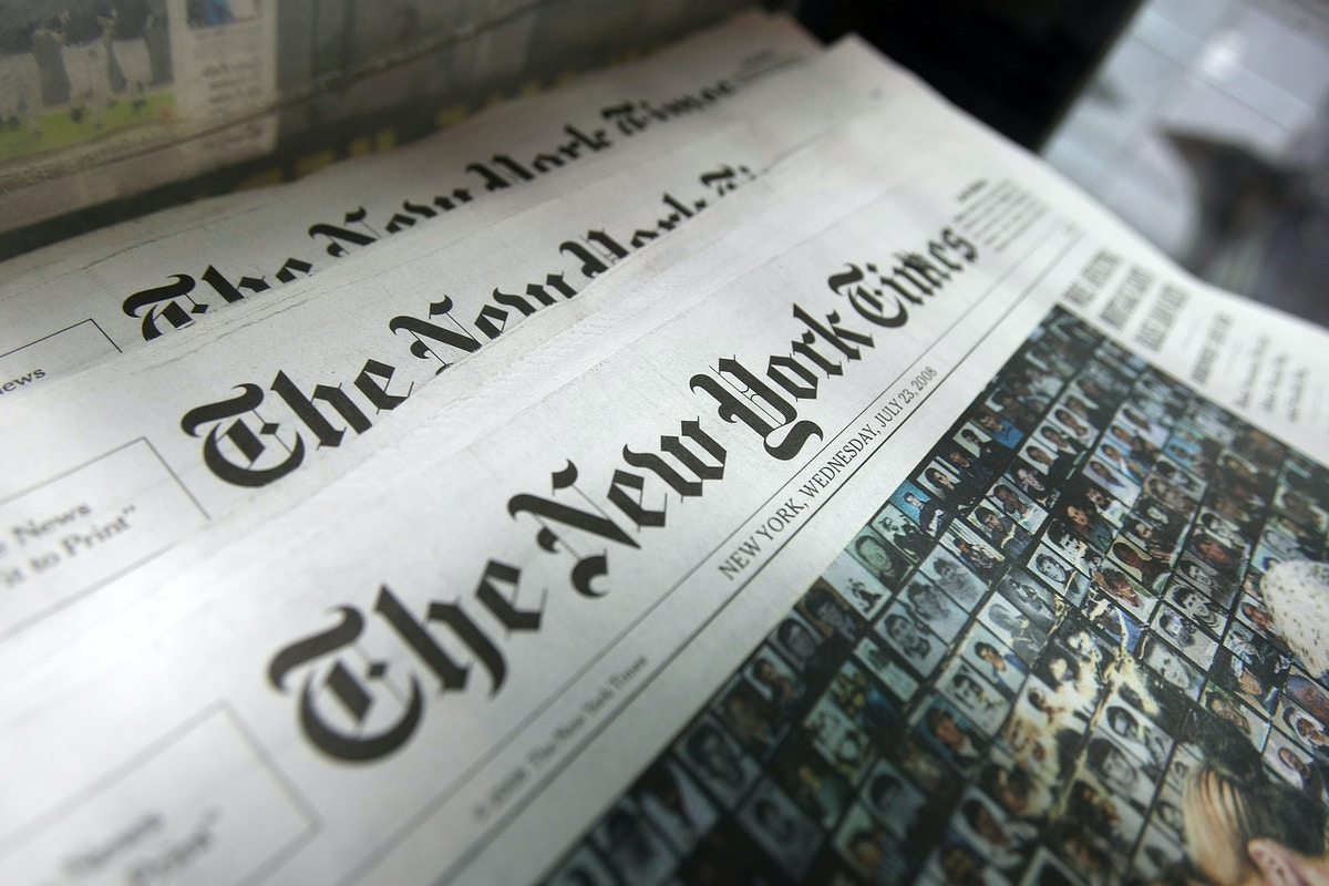 The New York Times Guild Once Again Demands Censorship Of Colleagues
