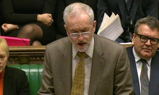 Prime Minister's Questions. Labour party leader Jeremy Corbyn speaks during Prime Minister's Questions in the House of Commons, London. Picture date: Wednesday January 20, 2016. See PA story POLITICS PMQs Corbyn. Photo credit should read: PA Wire URN:25290365