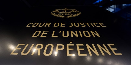 A picture the Court of Justice of the European Union in Luxembourg on December 10, 2014. AFP PHOTO / JOHN THYS.        (Photo credit should read JOHN THYS/AFP/Getty Images)