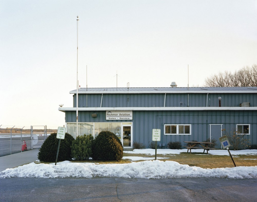 Edmund Clark, Richmor Aviation's office at Columbia County Airport, New York, from Negative Publicity: Artefacts of Extraordinary Rendition (Aperture/Magnum Foundation, 2016)