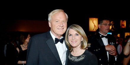 Chris Matthews, Kathleen Matthews==2015 Time 100 Gala==Jazz at Lincoln Center, NYC==April 21, 2015==Photo - Patrick McMullan/PatrickMcMullan.com==== (PatrickMcMullan.com via AP Images)