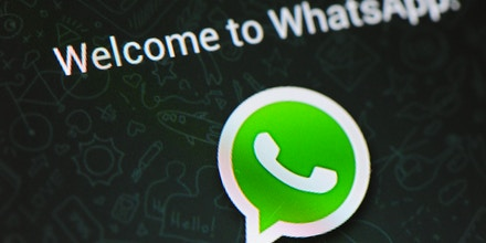 Facebook has acquired WhatsApp messaging service in a $19 bn deal. WhatsApp, a service that allows unlimited free text-messaging and picture sending has more than 400 million users globally and claims 1 million register daily. (Photo by Alex Milan Tracy/NurPhoto/Sipa USA)