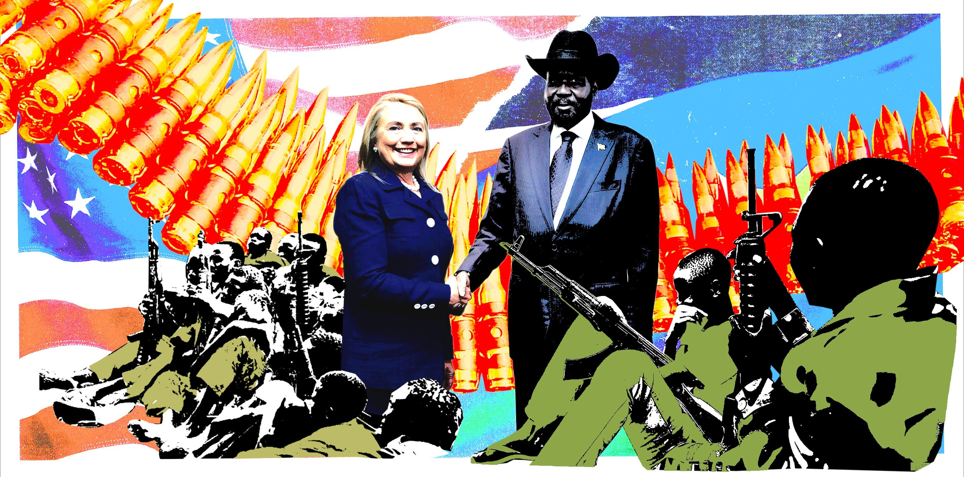 Hillary Clinton's State Department Gave South Sudan's Military a Pass for Its Child Soldiers