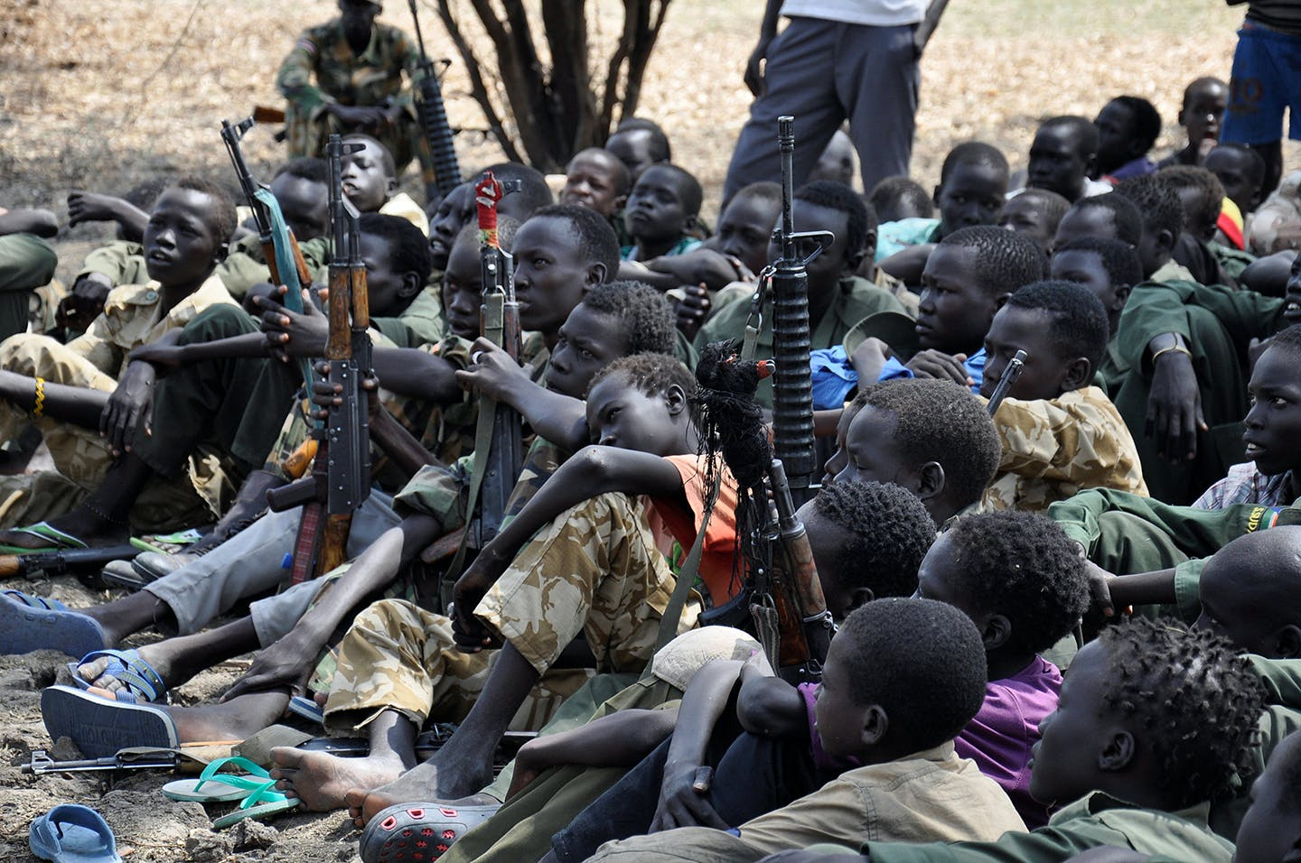 Modern Day Slavery In Libya >> Hillary Clinton's Pass to South Sudan on Child Soldiers