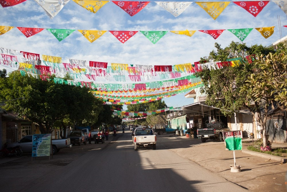 A street view of La Ruana, Michoacán, Mexico, Wednesday, December 16, 2015.(Brett Gundlock/Boreal Collective)