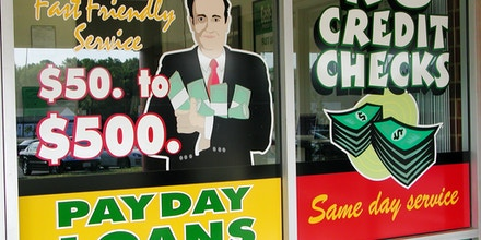 Payday loan window in Henrico County VA
