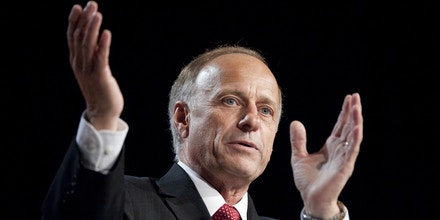 UNITED STATES – OCTOBER 7: Rep. Steve King, R-Iowa, speaks at the Family Research Council's Values Voter Summit in Washington on Friday, Oct. 7, 2011. (Photo By Bill Clark/CQ Roll Call)  (CQ Roll Call via AP Images)