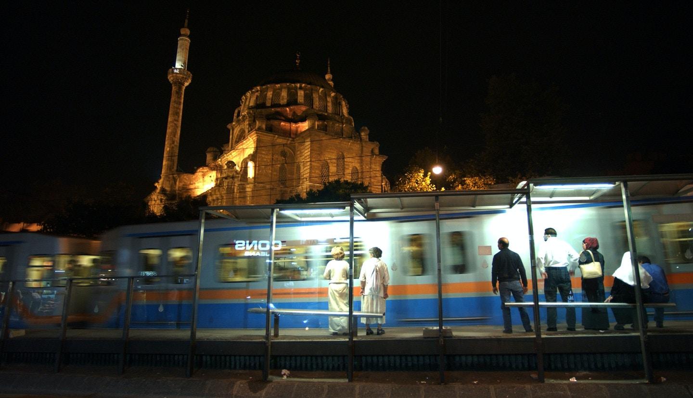 Aksaray tram stop. © Alessandro Digaetano/LUZphoto
