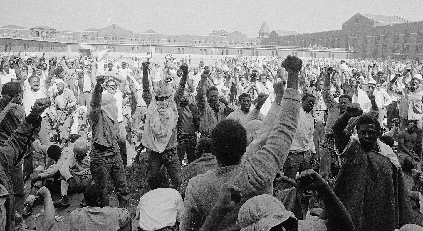 Attica 50 Yrs Ago Today – After 2 Guards Beat the Living Fuck Out of 2 Black Men Shawshank Style