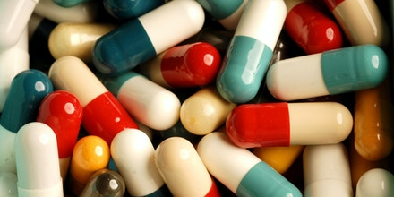 A picture taken on September 13, 2012 in Paris shows pills and medicines.            AFP/MIGUEL MEDINA        (Photo credit should read MIGUEL MEDINA/AFP/GettyImages)