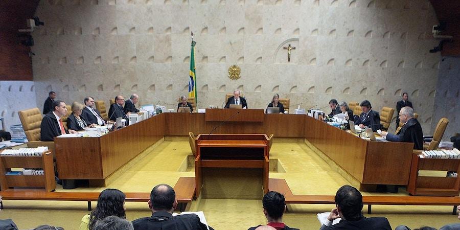 Supremo Tribunal Federal (STF) durante sessão plenária de julgamentos (Nelson Jr/STF)