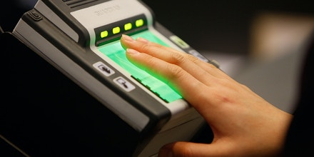 LOS ANGELES, CA - DECEMBER 10:  International air travelers are electronically fingerprinted as they are processed by US Customs and Border Protection agents upon arrival to Bradley International Terminal at Los Angeles International Airport (LAX), on December 10, 2009 in Los Angeles, California. December is the busiest time of the year for international travel and CBP is trying to educate the public on ways to get through the customs process efficiently.  (Photo by David McNew/Getty Images)