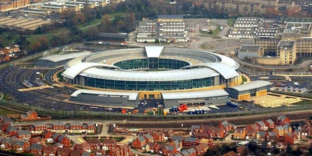 Investigatory Powers Tribunal. File photo dated 23/01/04 of the Government Communication Headquarters (GCHQ) in Cheltenham, as the regime under which the listening post carries out hacking of suspects' computers and smartphones does not breach human rights laws, a tribunal has ruled. Issue date: Friday February 12, 2016. Campaign group Privacy International and seven internet service providers mounted a legal challenge over activity known as equipment interference. See PA story TRIBUNAL GCHQ. Photo credit should read: Barry Batchelor/PA Wire URN:25502032