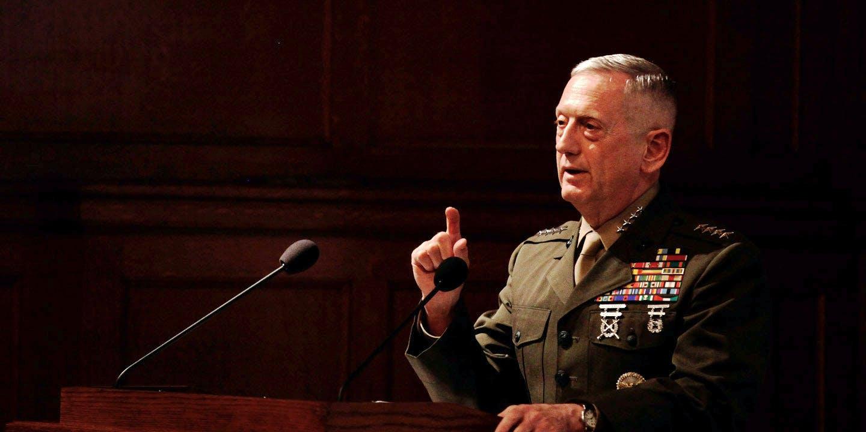 "Iraq Was Probably a ""Mistake,"" Said Gen. James Mattis, Trump's Defense Pick"